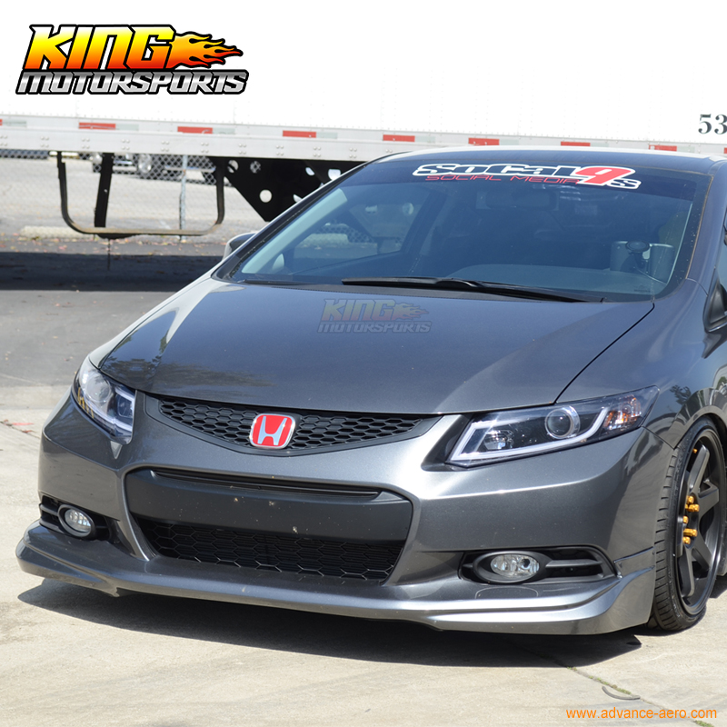 Aliexpress.com : Buy For 2012 2013 9Th Gen Honda Civic Coupe 2Dr Usdm  Modulo Style Unpainted Front Lip From Reliable Lips Lip Suppliers On King  Motorsports