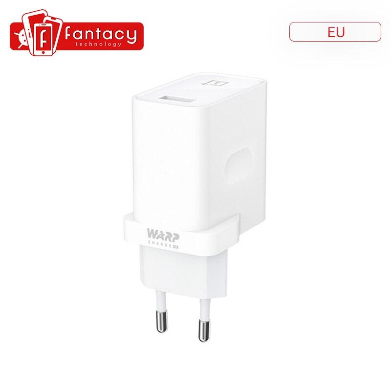 Оригинальный OnePlus Warp Charge 30 адаптер питания ЕС США зарядный кабель Быстрая зарядка для OnePlus 7 Pro
