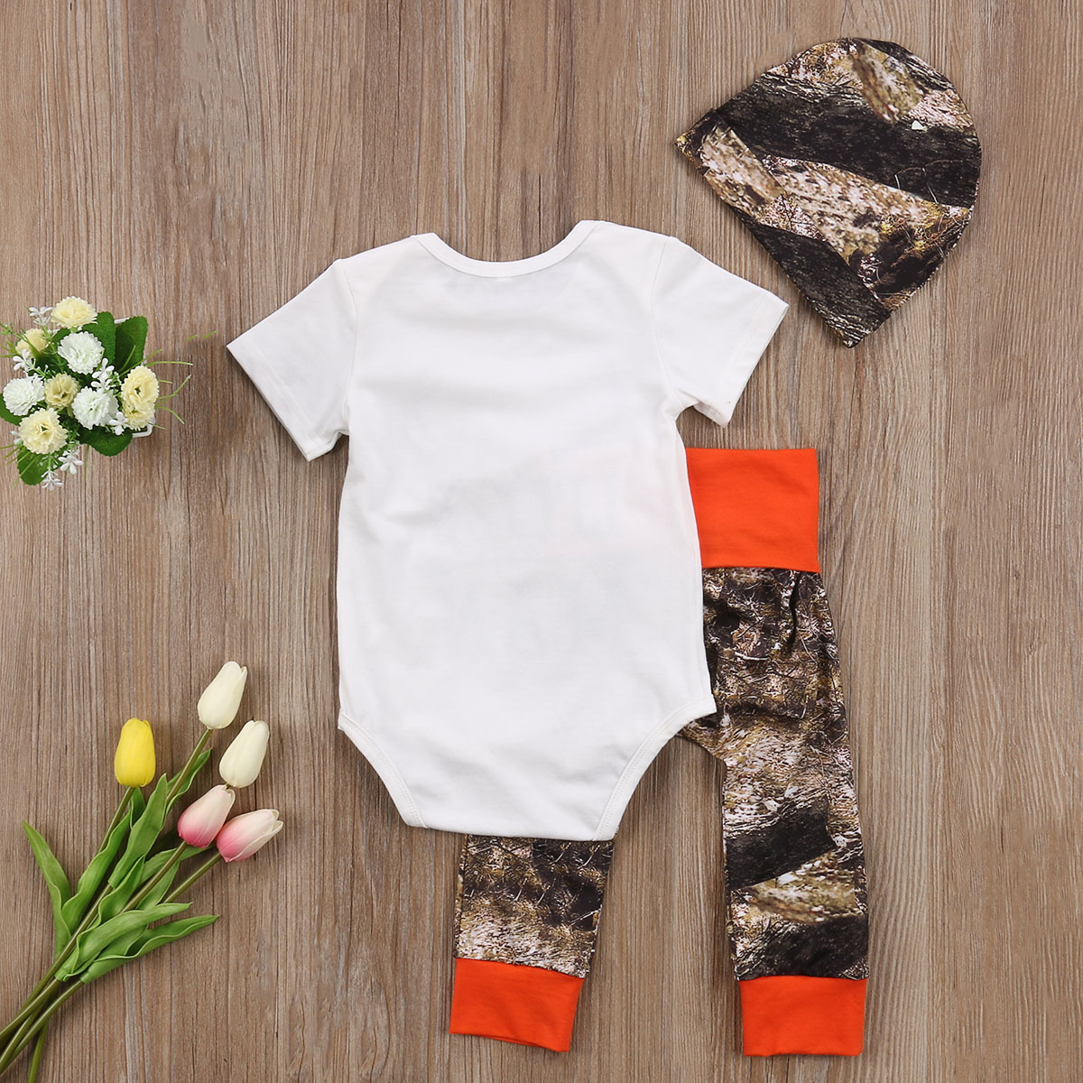 Baby Clothing Autumn Christmas Infant Baby Boys Top Little Man ...