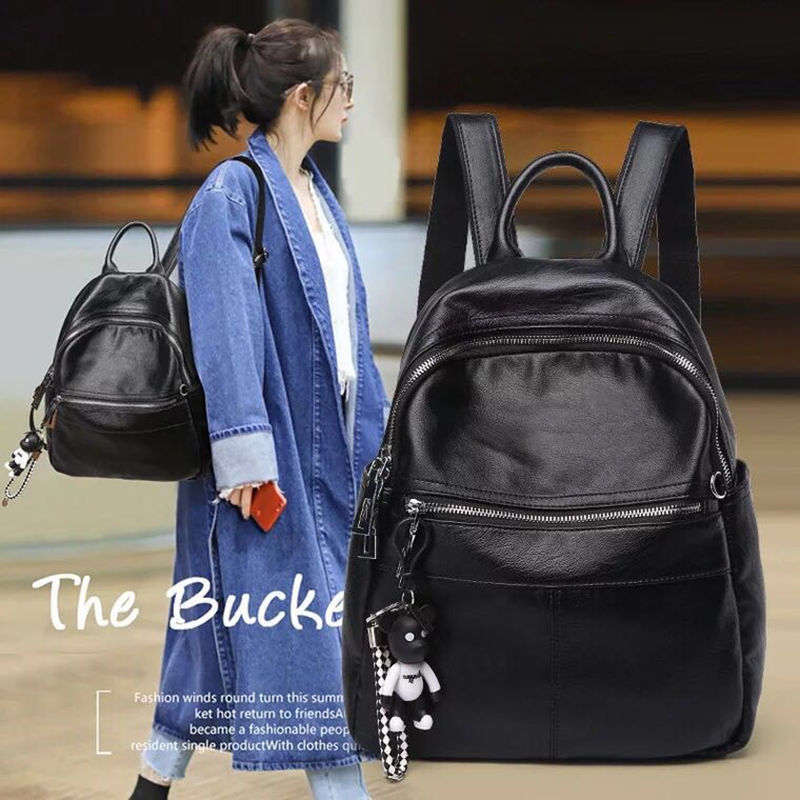 Fashion Design Women Backpack High Quality Youth Leather Backpacks for Teenage Girls Female School Shoulder Bag Bagpack mochila fashion leather women backpacks high capacity brand school bag for teenage girls casual style design mochila ladies new arrival