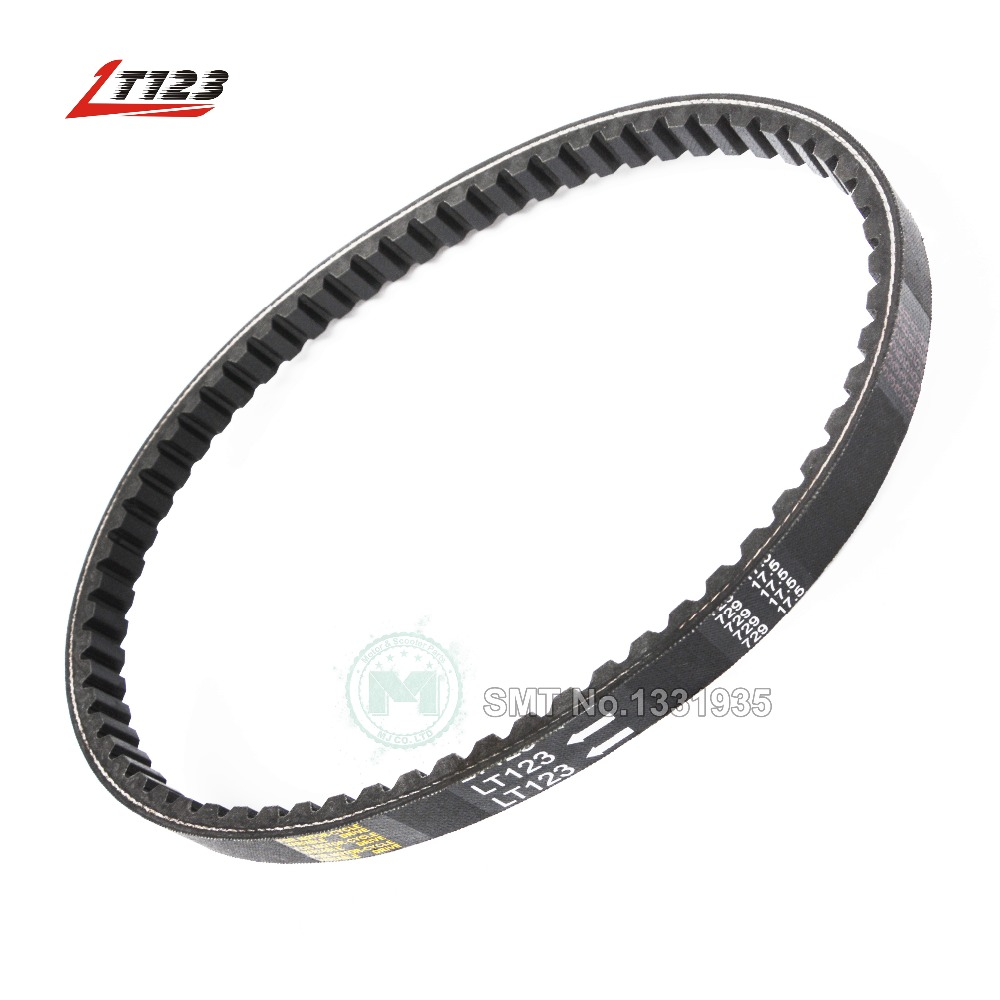 LT123 Scooter Moped Hight Quality Rubber Drive Belt 729 17.5 GY6 50cc (Long-Case) Jonway Roketa Vento Quad Buggy Go Kart