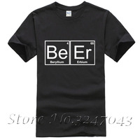 Periodic Table Chemistry Of Beer Pub Pint Stag Funny Joke Mens T Shirt Cotton Casual Shirt