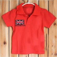 toddler girl t shirts 2017 summer short-sleeve girl t shirt brand fashion flag toddler boy t-shirts high quality girls clothes