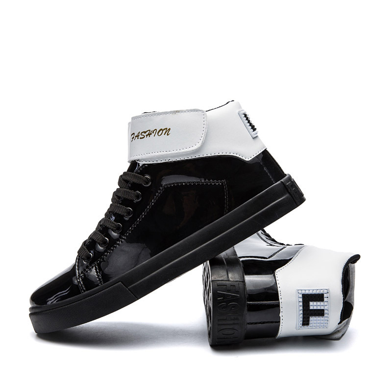 Noir Or Marque or Noir Sneakers De High Baskets Superstar Hommes Argent Mode argent Occasionnels Top Chaussures A625 868nrZ