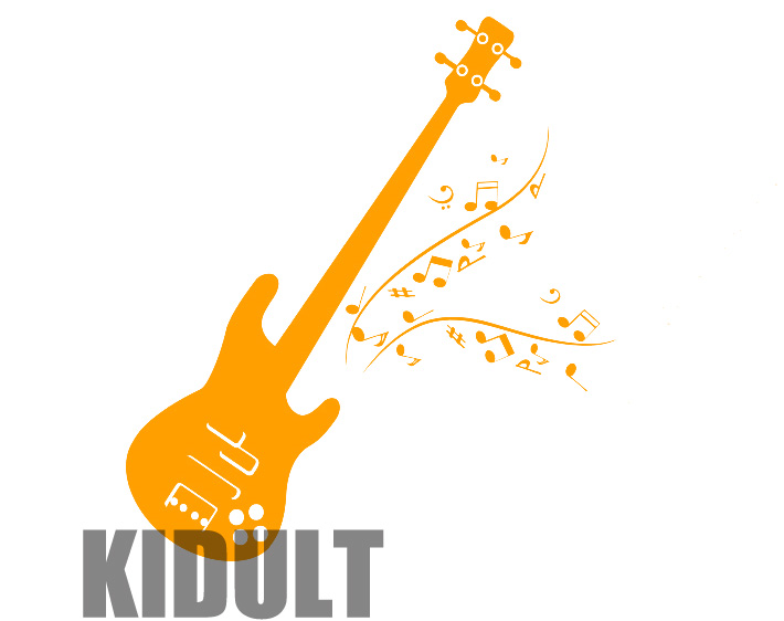 Guitar Wall Decals Creative Music Symbol Design Wall Household