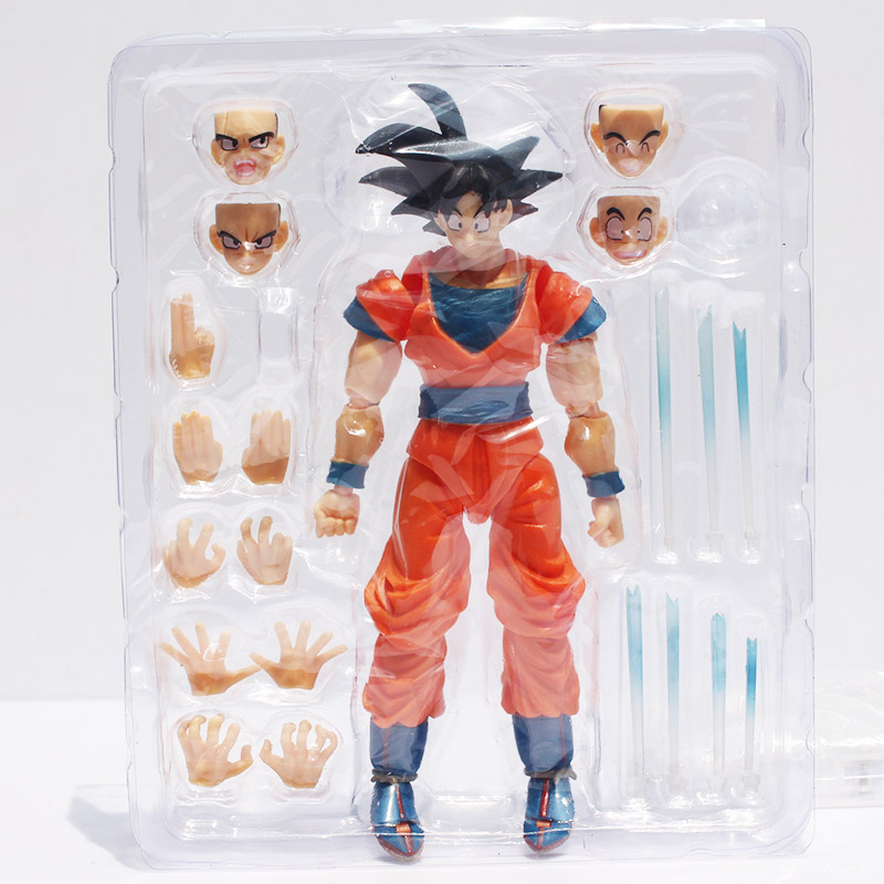 16cm SHF figuarts Dragon Ball Z Son Goku SHFiguarts Son Gokou PVC Action Figure Collection Toy in box new arrival 16cm anime dragon ball z shfiguarts vegeta pvc action figure toy with box kids model toys juguetes hot freeshipping