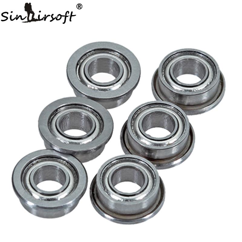 SINAIRSOFT 6 UNIDS/SET 6mm Cojinete De Bolas de Alta Precisión De Acero Inoxidab