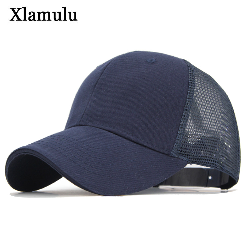 Xlamulu   Baseball     Caps   Summer Hat Women Snapback Sun Hats For Men Casquette Bone Gorras Sports   Baseball   Hats Visor Solid Male   Cap