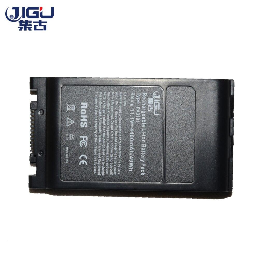 JIGU Black 6 Cells Laptop Battery FOR TOSHIBA Portege M405 M700 M750 M780 Satellite Pro 6000 Pro 6050 Pro 6100 R10 R15 R20 R25