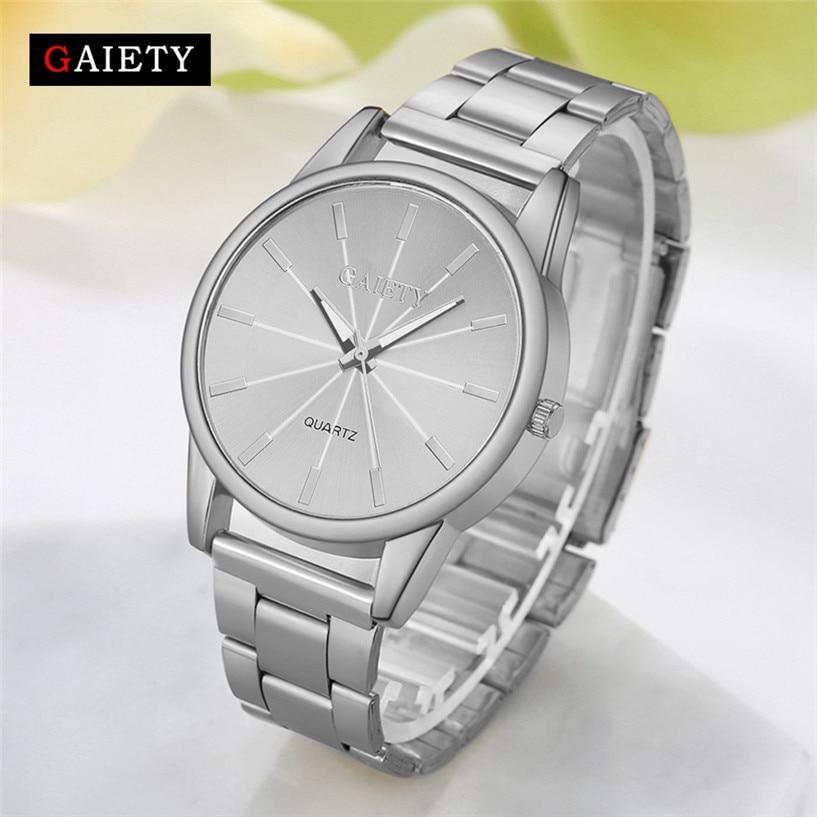 GAIETY Hot Sale Fabulous Women Casual Fashion Chain Analog Quartz Round Wrist Watch Watches Jewelry Orologio Drop Shipping #0222
