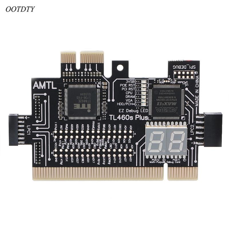 Multifunction Analyzer Diagnostic LPC DEBUG Card PCI PCI E