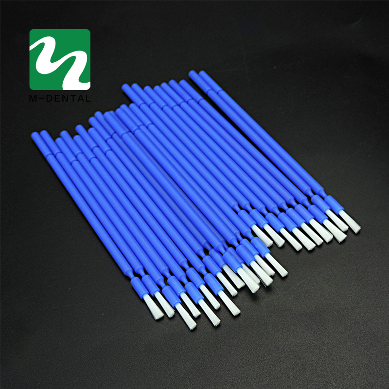 200pcs Dental Lab Long Disposable Micro Applicators Brushes Dental Materials Free Shipping 3pcs set dental instrument dental x ray sensor positioner holder dental digital x ray film locator for dental lab free shipping