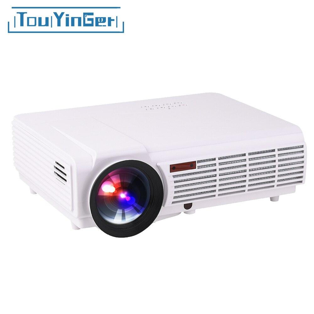 Светодио дный светодиодный 96 + BT96 проектор Android wifi 1280*800 Full HD 1080p видео 3D светодио дный светодиодный домашний проектор мультимедийный жк-проек...
