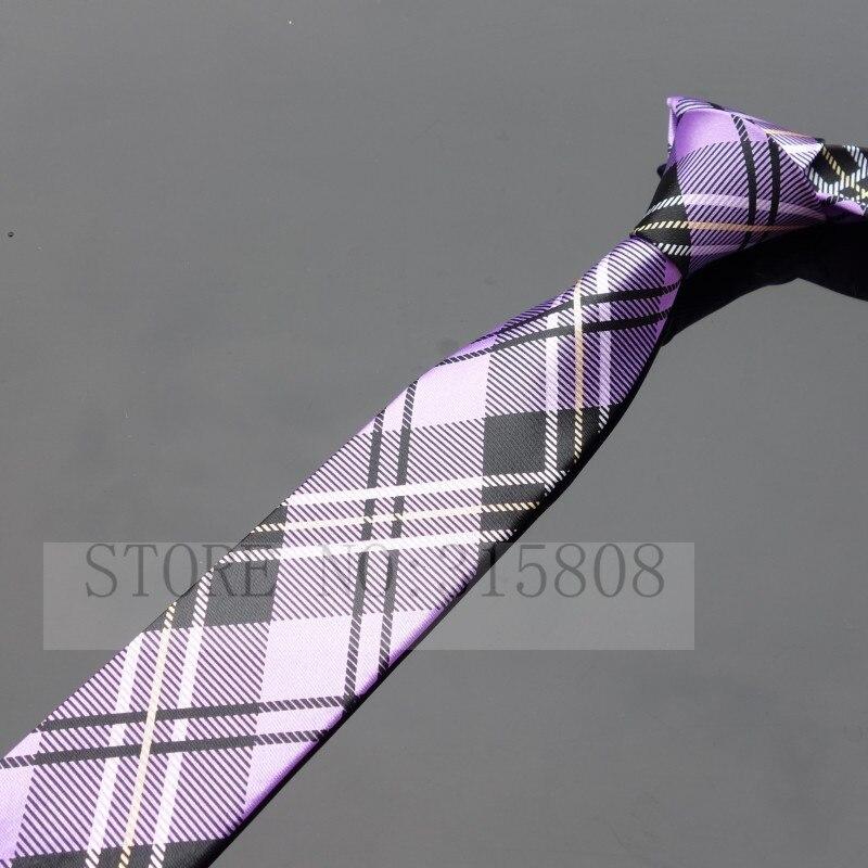 Ikepeibao печатных тонкий узкий шеи галстуки для мужчин полосатый тощий галстук аксессуары - Цвет: P007 As pic show
