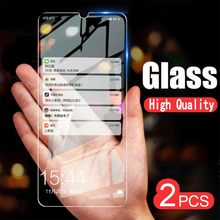 2pcs/Lot Tempered Glass For Huawei Ascend Honor V20 20i play P Smart 2019 Mate 20 10 Pro 9 Lite Screen Protector Protective Film(China)