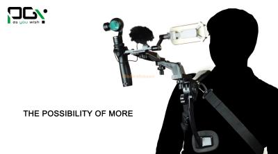 Shouldercam Shoulder Holder Extendable arm Camera Accessories For DJI Osmo