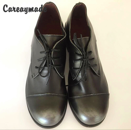 Careaymade 2018 new Europen American styles Head layer cowhide women s shoes retro Fashion shoes women