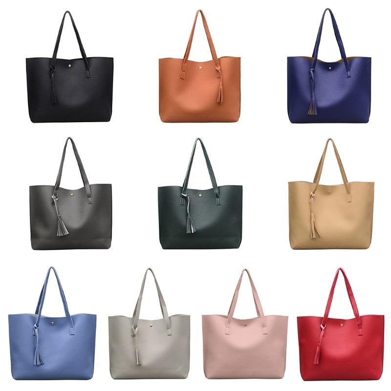 THINKTHENDO New Fashion Women Handbag Shoulder Bags Tote Purse Messenger Hobo Shopping Bag