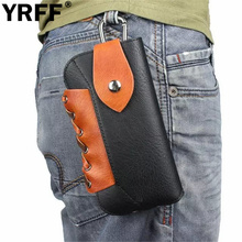 YRFF Rope Outdoors Sport Phone Bag Hook Loop Belt Pouch Holster Case Cover For iPhone 6 4.7 6 Plus 5.5 for samsung note 5 Pouch