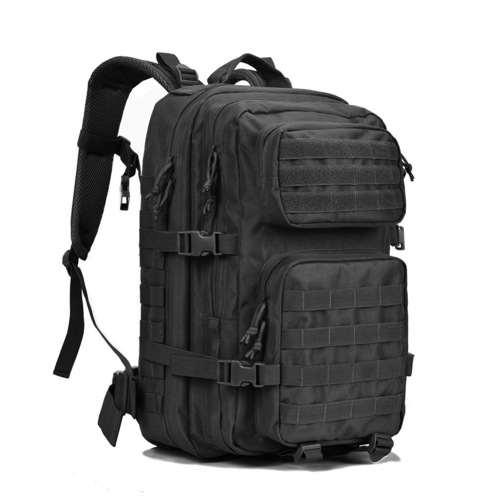 MACWAVE 45L Tactical Backpack Large Military Assault Pack Army 3 Day Rucksack Molle Bug Out Bag For Outdoor Hunting Camping