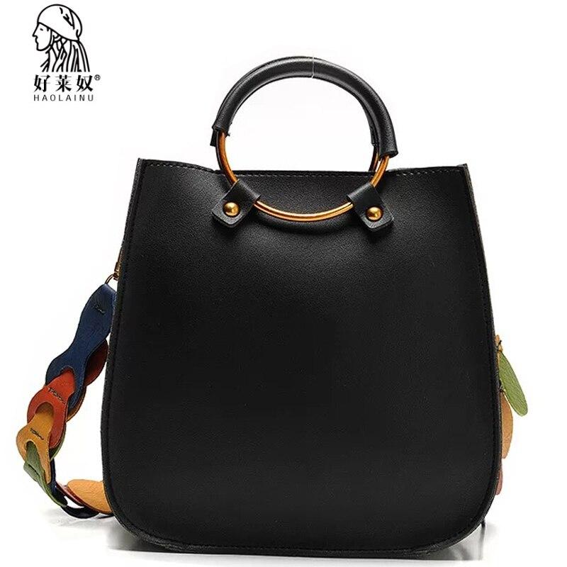 2107 Vintage Casual Leder Handtaschen Hochwertige tasche damen Geldbörsen Handtasche Frauen Messenger Schulter Crossbody Taschen Bolsos