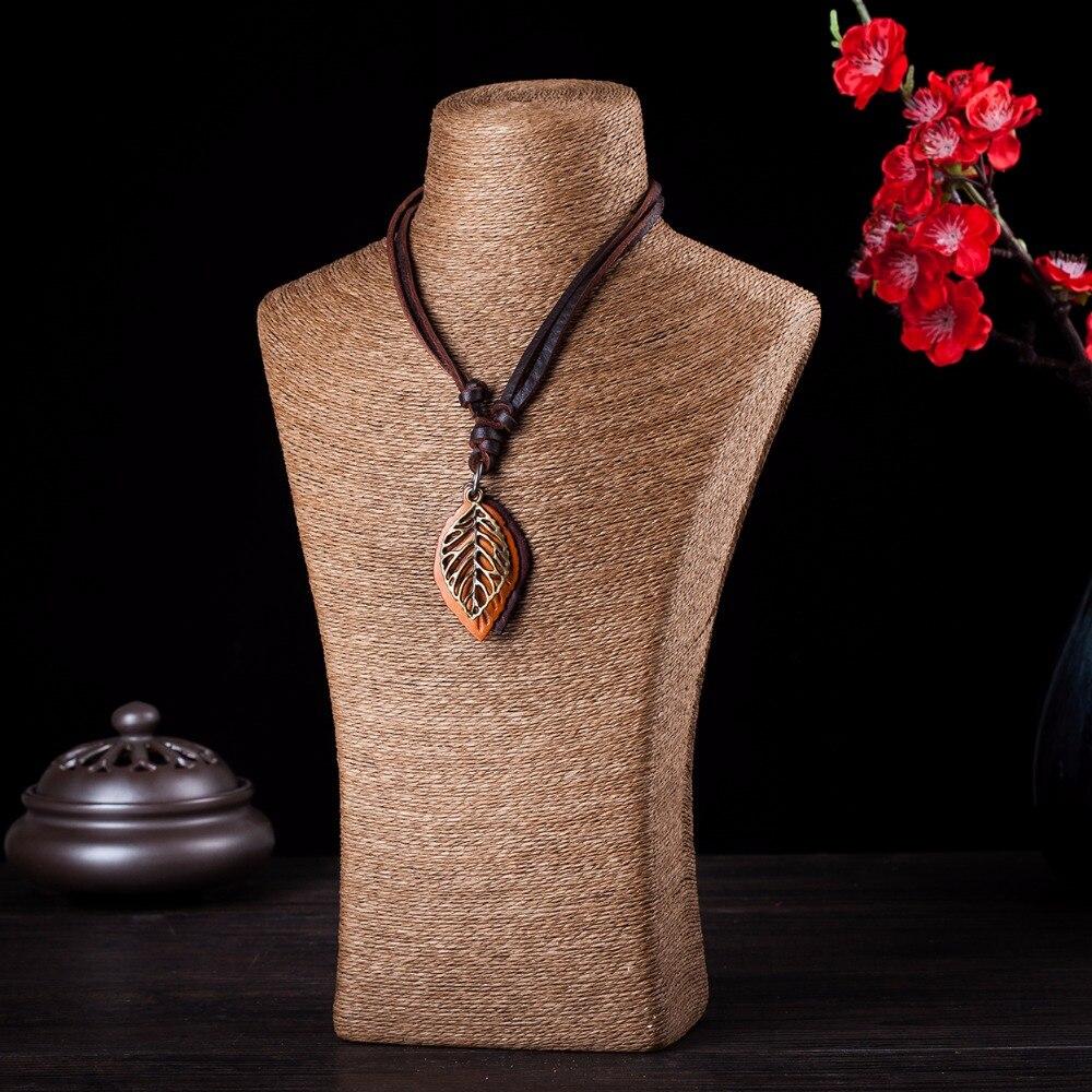 Perhiasan pernyataan kalung & liontin wanita Kalung kulit collier - Perhiasan fashion - Foto 2