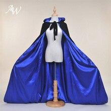 AW взрослый плащ с капюшоном бархатный халат накидка для Хэллоуина Косплей Рождественские костюмы унисекс