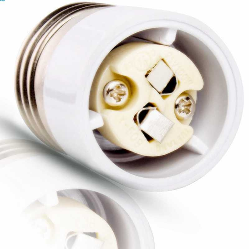 High Quality E27/E26 to GU5.3 MR16 Bulb Base Converter LED Light Lamp Adapter Screw Socket Free Shipping