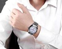 Watches Men Luxury Brand LIGE Chronograph Men Sports Watches Waterproof Full Steel Quartz Men S Watch