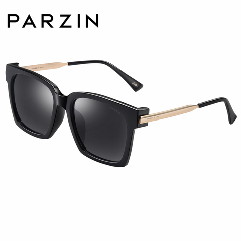 PARZIN Brand Winter New Polarized Sunglasses Men and Women Fashion Large Square Frame Driving sunglasses With Original Box9673 Lahore