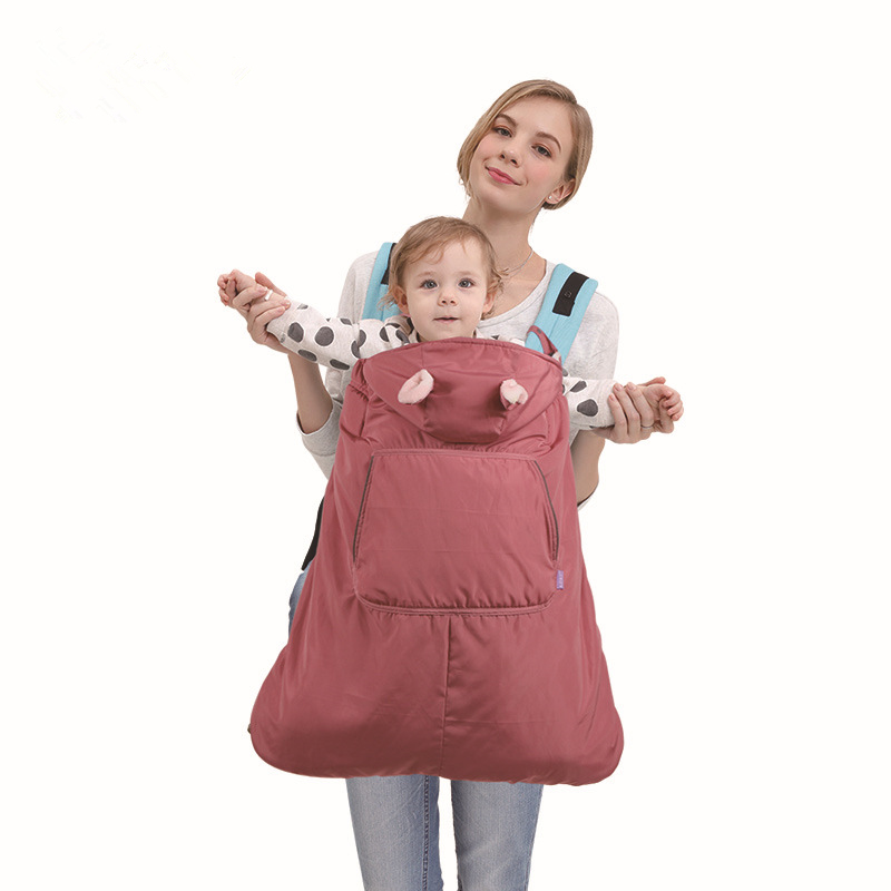 Mother & Kids Best Baby Newborn Backpack Carrier Sling Mantle Cover Cape Sleep Bag Windproof Outdoor Baby Warm Winter Baby Carrier Coat Cloa