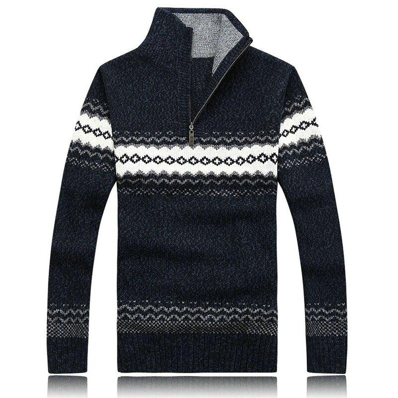 2017 Winter Mode Männer Casual Pullover Pullover Herren Strick Pullover Mantel Outwear M-xxl Axp05 Tropf-Trocken