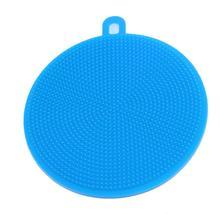 Силиконовая щетка для мытья посуду многофункциональная Чистящая Щетка силиконовые губки силиконовые щетки