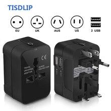 Tisdгуб адаптер для путешествий разъём адаптера питания Универсальное зарядное устройство все-в-одном Международный переходник для США/Великобритании/ЕС/Австралии