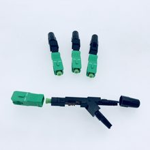 100PCS SC/APC-C Optical Fiber Fast Connector Embedded Type Telecomm Grade cold junction FTTH(China)