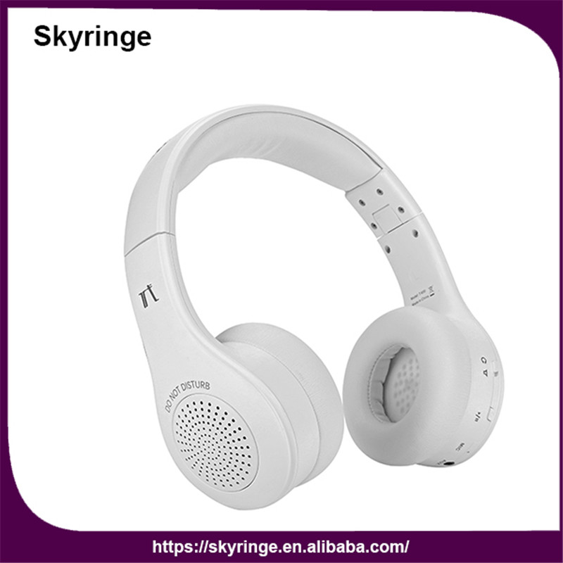 Shenzhen Skyringe T400 Rohs Made In China Wireless Bluetooth Headset And Speaker-in Earphones
