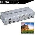 Controlador de vídeo Wall 4 K X 2 K HDMI 1.4 Processador de vídeo Wall DVI/HDMI para 4X HDMI com controle de áudio & RS232