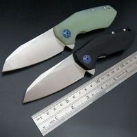 Recommended ZT 0456 Tactical Folding Knife G10 Handle D2 Blade Bearing Flipper Hunting Knife Pocket Camping