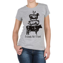 Friends Not Food vegan girlie