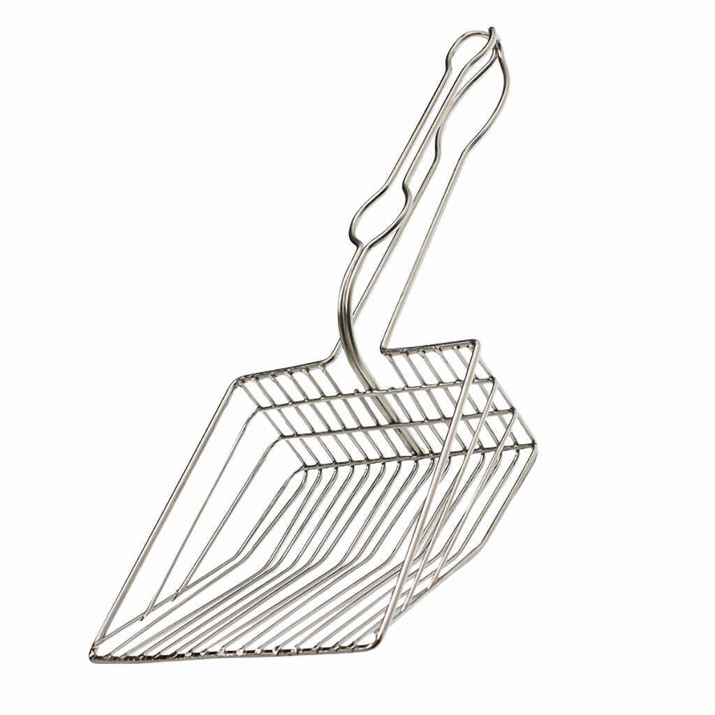 Полезный совок для уборки наполнителя кошачьего лотка инструмент для чистки домашних животных совок сифт кошачий наполнитель чистящие изделия совки металлический кошачий лоток Тренировочный Набор
