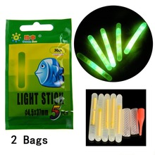 THKFISH 5 Pcs 5g EVA Foam Fishing Floats +10 Pcs Glow Sticks Lighting Stick Luminous Floating Floats Bobbers