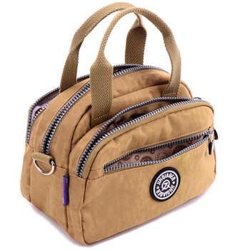 Fashion Women's Waterproof Nylon Messenger Bags Female Tote Shoulder Bags Girls Casual Handbags Crossbody School Bag - DISCOUNT ITEM  40% OFF All Category