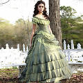 2016 Do Vintage Vestidos Quinceanera Vitoriano Corset Katherine Vampire Diaries Nina Dobrev Tafetá 15 Vestido Concurso Menina vestido de Baile