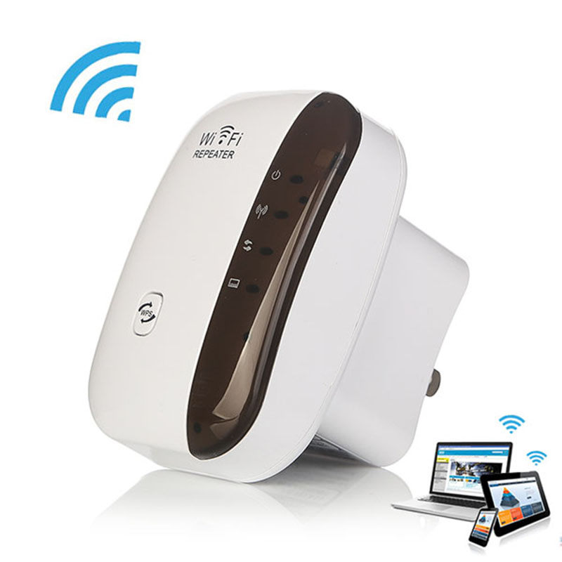 iMice Wireless Wifi Repeater Range Extender Wifi Amplifier 802.11n.b.g 2.4G 300mbps Wi-Fi Signal Amplifier Booster WPS for Home ...