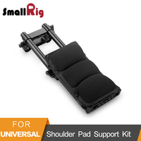 SmallRig DSLR Camera Stabilizzatore Spalla Pad Kit di Supporto Con 15mm Rod della Guida Morsetto 1/4 3/8 Fori Filettati 2167|Monopiedi|   -