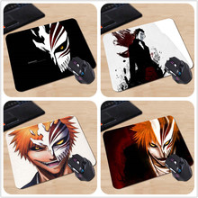 High Quality Notebook Gaming Anti-slip Mouse Pad Bleach Anime Rubber Soft Gaming Mouse Games Black Mouse pad