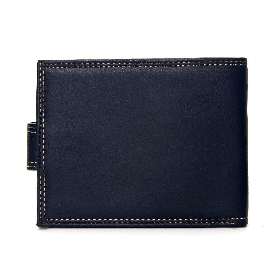 Роскошный дизайнерский мужской кошелек из кожи пу, Двойные Короткие Кошельки, мужские винтажные кошельки с застежкой, кошелек для монет, многофункциональный кошелек для карт