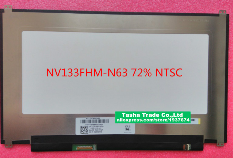 13.3 LCD Screen Display Panel Replacement NV133FHM-N63 Laptop TV NV133FHM For LG IPS matrix 1080P13.3 LCD Screen Display Panel Replacement NV133FHM-N63 Laptop TV NV133FHM For LG IPS matrix 1080P