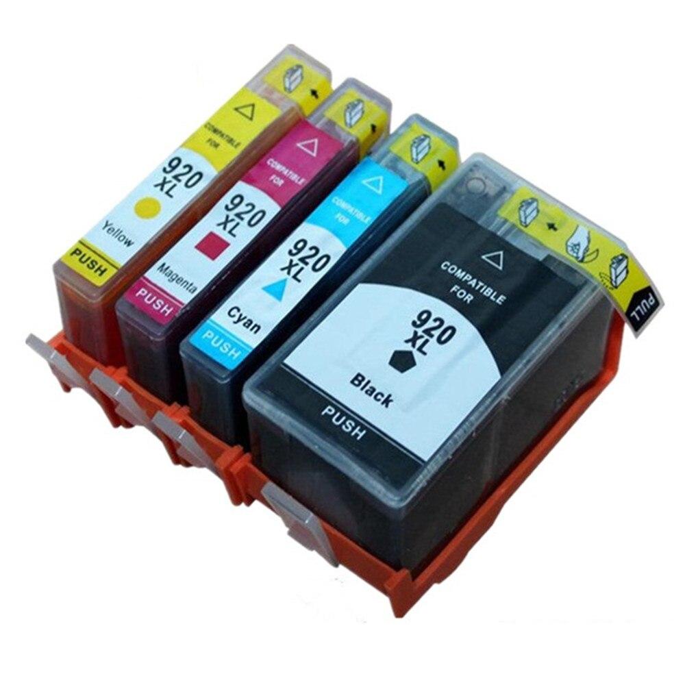 4 x Ink Cartridges For HP HP920XL 920XL HP920 920 XL OfficeJet 6000 6000se 6500 6500Plus 6500se 7000a 7000se 7000 Inkjet Printer