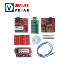 Free shipping Newest Version Programmer UPA-USB V1.3 with Full Adaptors UPA USB ECU Chip Tuning Tool Free Shipping UPAUSB V1.3